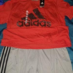 Matching Adidas set